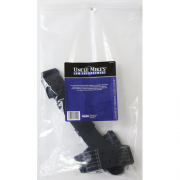 Uncle Mike's Law Enforcement Black Kydex Tactical Holster Platform w/ Straps